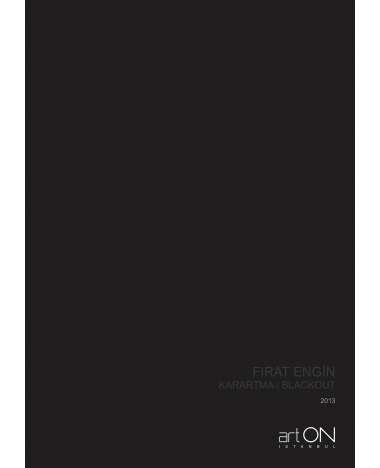 Blackout | arton istanbul